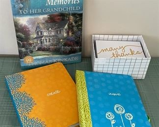 HALF OFF!  $5.00 NOW, WAS $10.00....................Journals and Thank You Cards (C093)