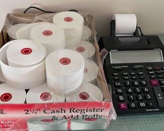 $16.00......................Calculator and Cash Register Rolls (C091)
