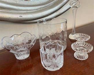 CLEARANCE !  $4.00 NOW, WAS $12.00.................Glassware (C070)