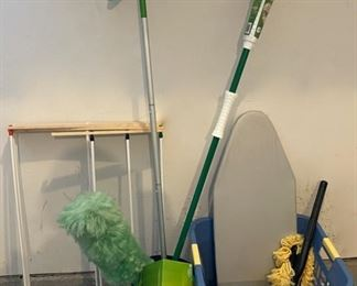 HALF OFF!  $5.00 NOW, WAS $10.00..................Mop, Drying rack and more (C010)