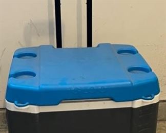 $16.00.....................Large Cooler with wheels (C009)