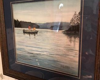 WATERCOLOR BY JIM HAIRFIELD (JUDY PETRIE'S DAD)