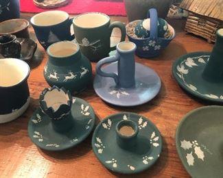 Few pieces of many Judy Petrie Carolina Cameo