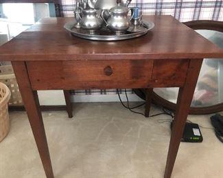 Walnut Pegged Two Board Table