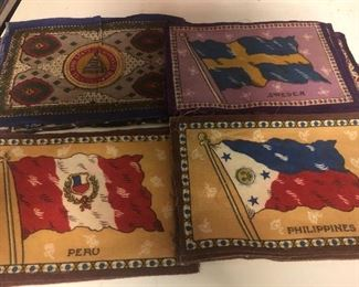 Early Tobacco Flags