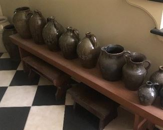 Assortment of Local Pottery