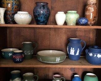 Pisgah Forest Stephens Pottery  Judy Petrie Carolina Cameo