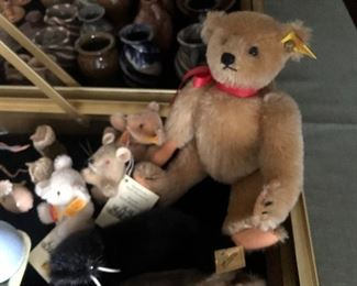 Steiff Bear & other