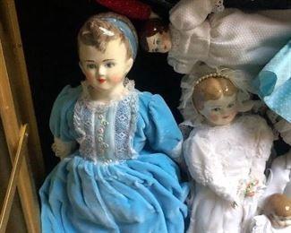 Ernestine Hilton Sigman Dolls