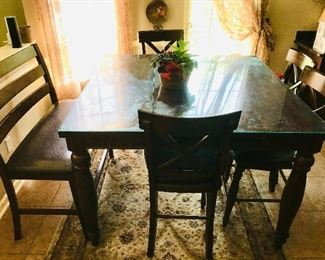 Gathering Table / Chairs / Bench