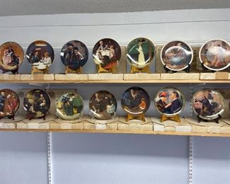 50 Norman Rockwell Collector Plates