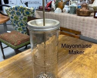 Antique Mayonaise maker