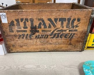Antique Wood Crate