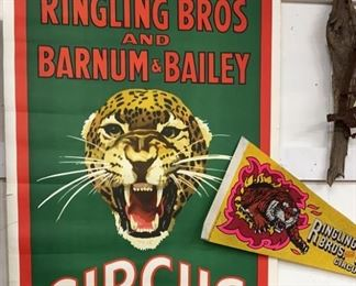 Collectible Circus Poster Pennant