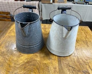 Enamelware Pitchers