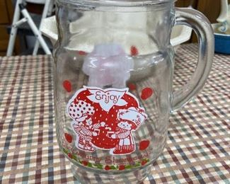 Vinatge Strawberry Shortcake pitcher