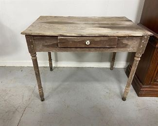 Primitive Wood Pegged Table