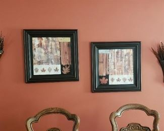 Framed art, decor