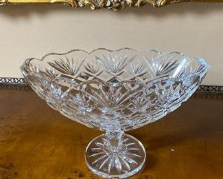 "Waterford Pedestal Bowl 11"" x 6"" x 7"" $185 - - $145"