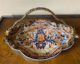 "21""l x 13""w x 11""h  Serving Dish (China) $150"