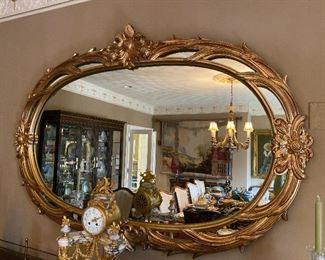 """Gold Mirror 70"""" x 48"""" $1,725"""