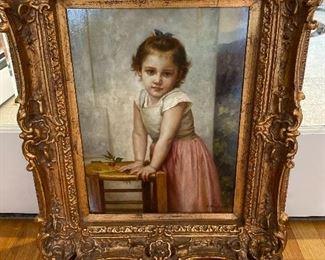 """Painting by N. Bingham 25""""x 20"""" $575"""