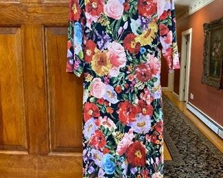 Long Alice & Olivia Dress feels like stretchy cotton Size 8/10 $60