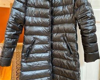 Montcler Black Puffer Jacket looks to be size 3 / Med $525 - - NEW PRICE$445