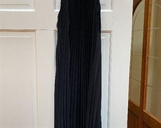 Long Black Max Mara Sleeveless Dress Size 8/10 $65
