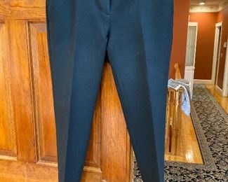 Ann Taylor black pants with bottom ruffle Size 8 $25