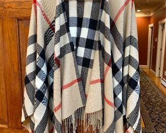 Burberry Shawl Wrap $375