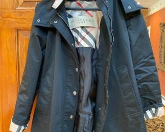 Burberry Brit Rain Coat (WITH LINER in the next photo) Size 8 $345