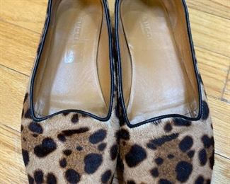 Gucci Pony Hair Flats Size 7 $195