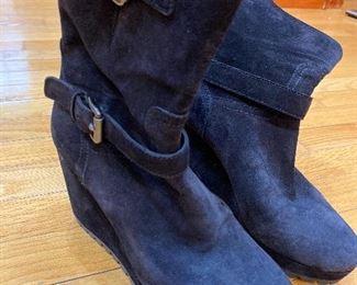 Prada Suede Boots Size 38.5 $175