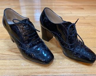 Hobbs London Black Leather Shoes Size 39 $45