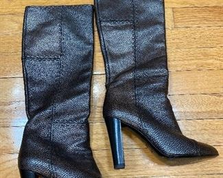 Fendi Leather Boots Size 38.5 $275