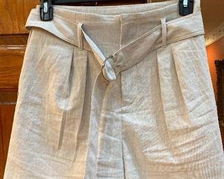 Ellie Tahari Linen Shorts Size 8 $28