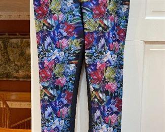 Cynthia Rowley Neoprene Scuba High Rise Skinny Ankle Pants Size 8 $50