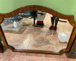 "Beveled mirror 40"" x 30"" $185"