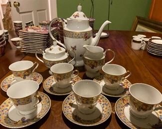 Depos T. Limoges Italy Tea Service for 6 $425