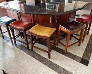 5 Pier One Stools $65 each