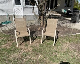 2 Outdoor chairs $35