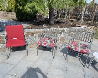 Patio Chairs - $45 each