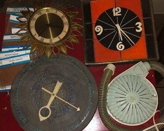MID CENTURY MODERN CLOCKS