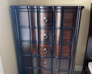 "5 DRAWER CHEST / DRESSER 38""L x 18""D x 54""H"