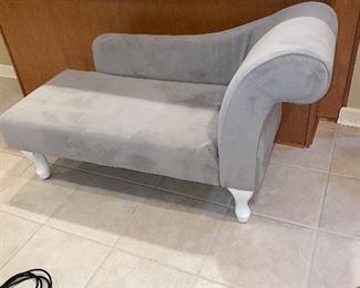 SMALL GRAY BENCH