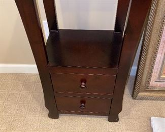 TWO DRAWER SMALL TABLE