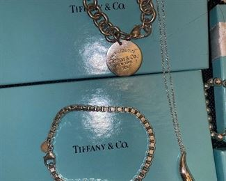 TIFFANY & CO. STERLING SILVER JEWELRY