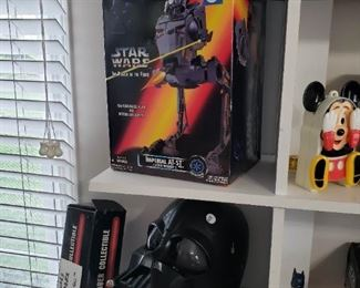 Star Wars Power of the Force AT-ST toy w/ box