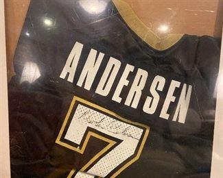 Saints jersey sign by Martin Andersen